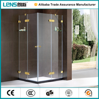 Zhongshan Lens portable sauna room Europe and Africa simple shower stall