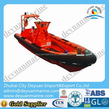 Good price High speed jet boat inflatable boat rib Fender Fast Rescue Boat