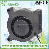 120mm 12v 24v Centrifugal Blower Working In Heat Recovery