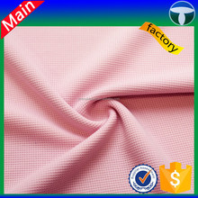 100% polyester waffle fabric for robes, waffle fabric curtain