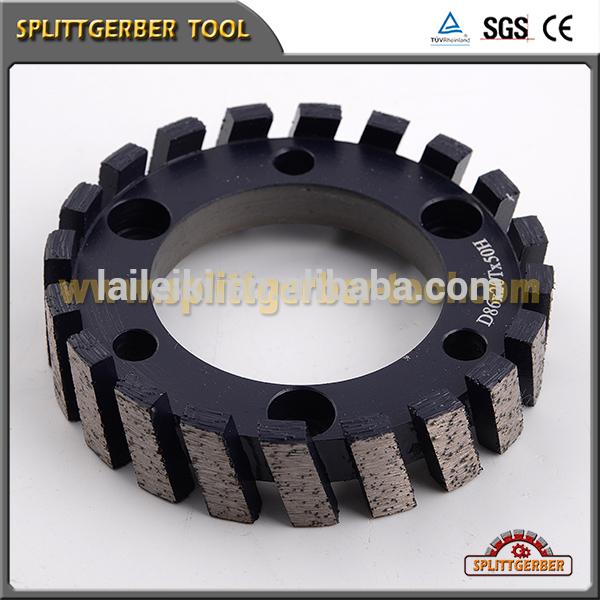 China manufacturer electroplated diamond profile grinding wheel