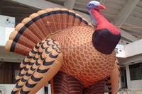 PVC Tarpaulin giant Inflatable Turkey for advertising