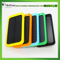 Customized LOGO mini solar mobile power bank charger