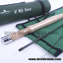 AA cork handle in stock #2 weight wholesale 3 section similar to sage fly rod