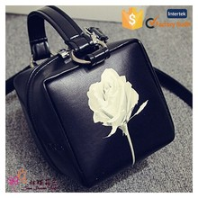hot sale fashion design quilted pu leather cosmetic bag china toilet bag