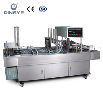 BG32V/BG60V Automatic cup filling and aluminum foil sealing machine (Two cups) Vacuum for pick-place aluminum foil cover