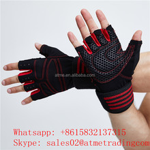 Workout Wrist Wrap Weight Lifting Gym Gloves for Sports Exercise Training Fitness