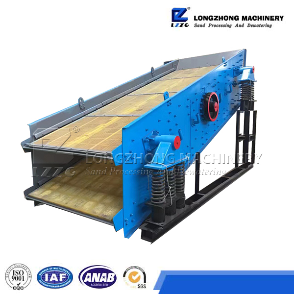 concrete sand equipment movable Vibrating Screen export