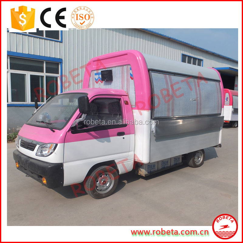 Henan Robeta food truck for sale in malaysia / food cart manufacturer philippines