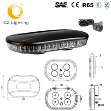 LED Mini Strobe Flash Warning Lightbar for PoliceCar/Tow Truck Ambulance Security Safe Lights