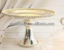 Metal cake stand/fruit plate