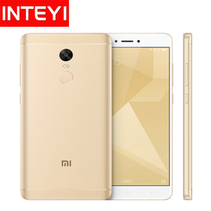 New Original Xiaomi Redmi Note 4X Note 4 X Mobile Phone Snapdragon 625 Octa Core 4GB RAM 64GB ROM 4100mAh 5.5 inch Cellphone