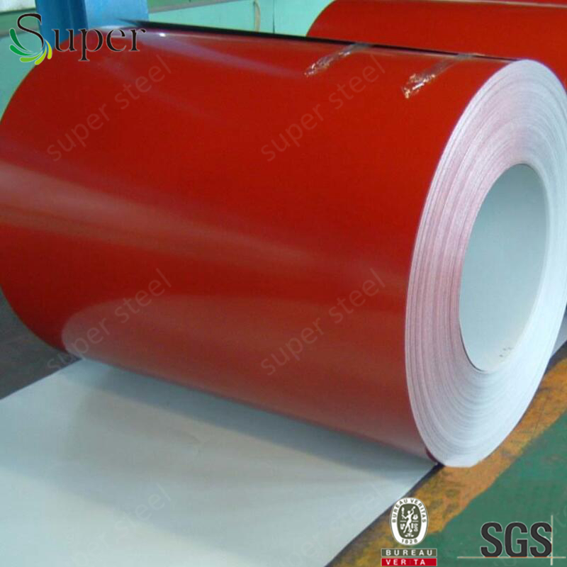 blue color prepainted galvanized steel coil 0.4mm thickness 1000mm width