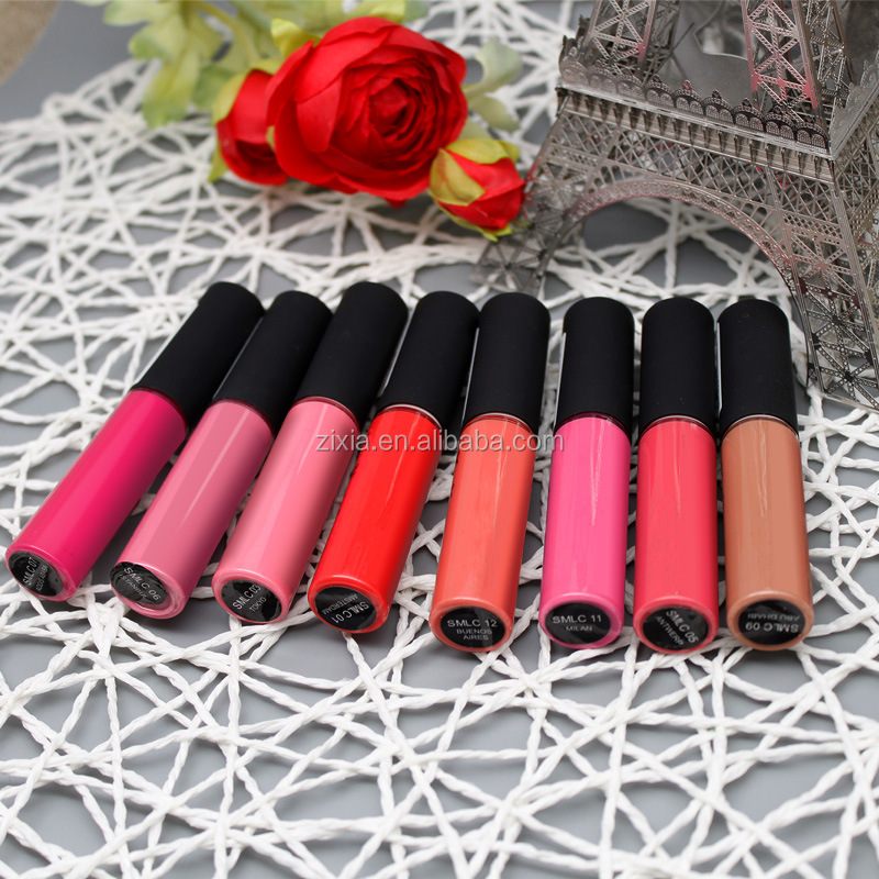 hot selling! Custom your own brand private label cosmetics matte lipstick