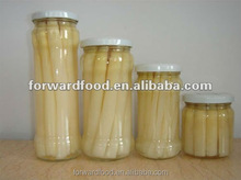 High quality Canned White Asparagus Spears in Jar