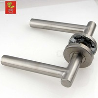 Stainless Steel Tubular Door Handle Door Lever Handle