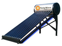 Heat Pipe Vacuum Tube Solar Thermal Collector with Solar Keymark for Swimming Pool