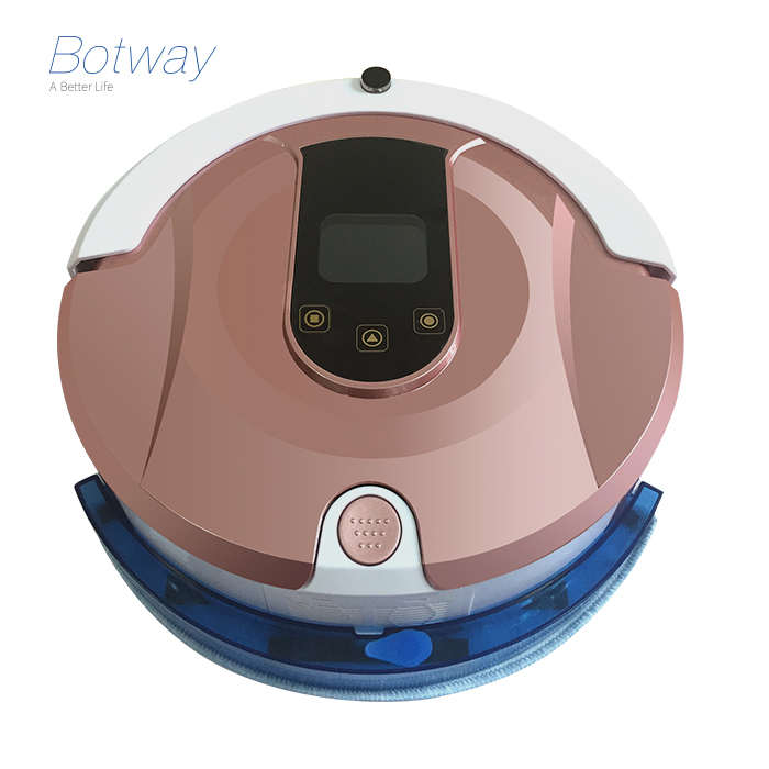 2017 hot OEM built-in water tank for mopping self-docking self-charging robotic vacuum cleaner