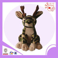 camo deer type plush toy