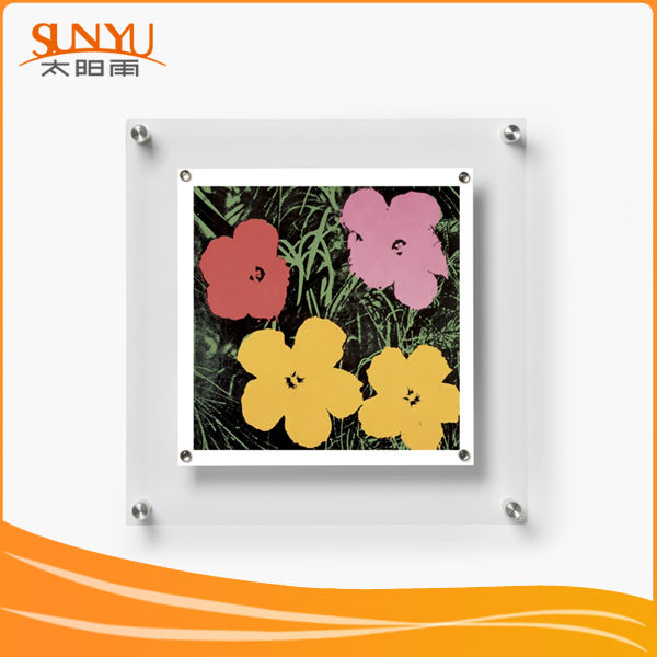 With 16 Years Manufacturer Experience heart-shaped acrylic backboard photo frame
