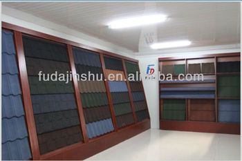 metal roof tile/stone coated steel roof tile
