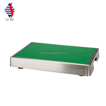 Stainless steel standard laboratory balance damping table