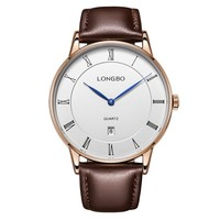 LongBo japan movt watch prices vogue mens 2016 leather watch vogue 2016 leather watch