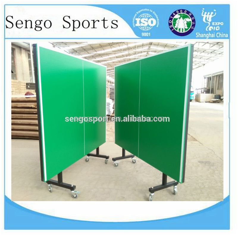 2017 High Grade Folded Movable Table Tennis For Outdoor Used