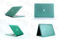 Light Green Rubberize Matte Case for New Macbook Pro 15.4,PC Hard Crystal Case for New Macbook Pro 15 in 18mm thickness