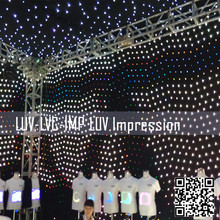 led video cloth/led video display/led vision curtain