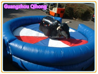 hot sale inflatable mechanical bull with best quality, inflatable rodeo bull riding machine, mechanical bull toys