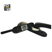 Aluminium window crescent type lock
