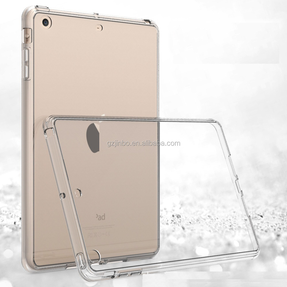 2017 New Transparent Gel TPU Back Cover For Ipad Pro 10.5 Case