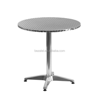 27.5 Round stianless steel Indoor-Outdoor Table with Base