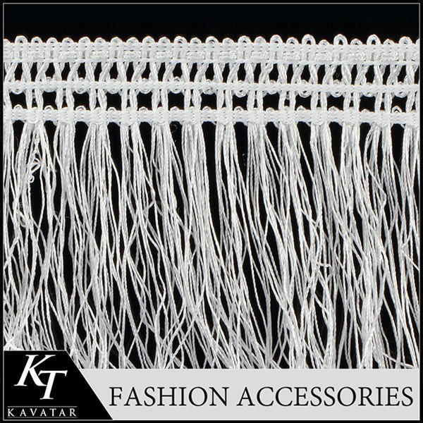 wholesale high quality decoration fringe tassel newest tassel fringe for curtain