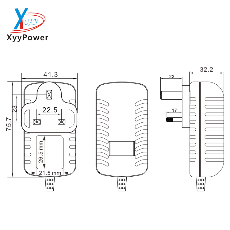 100-240v ac dc power supply 5v 12v 24v wall mounted power adapter