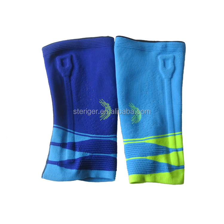 3D woven nylon spandex material comfort breathable sports knee support sleeve