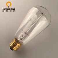 Wholesale China Glass Clear 60W Edison E27 Light Bulb