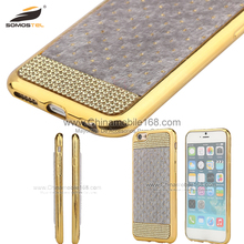 cell phones accessories electroplating laser carving phone case for iphone 7 6 5s