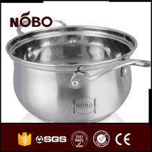 Polishing Stainless Steel Home Stock Pots With Handle