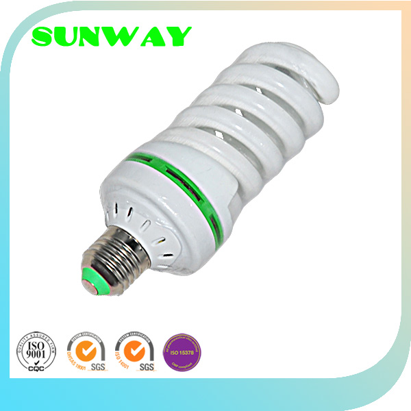 "THE most popular factory ""SUNWAY"" OEM E27 Energy Saving Fluorescent, 17mm Spiral energy"