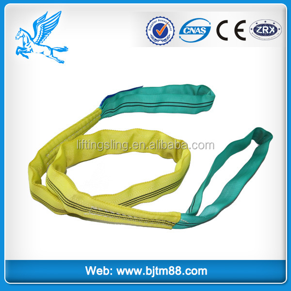 Super Quality Polyester Webbing Sling Gold Supplier Flat Polyester Slings