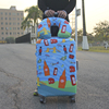 Hot Elastic Spandex Suitcase Cover Custom