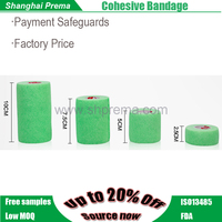 2016 medical supply Quality First FDA APPROVED promotional nonwoven cohesive bandage