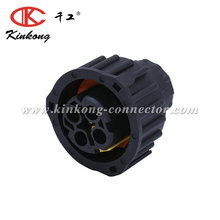 4 way Tyco/Amp black waterproof male automotive electrical plug sealed auto wiring connector 1-1813099-1/967325-1/1-1813099-2