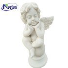 Life size garden decoration marble angel statues NTMS-026Y