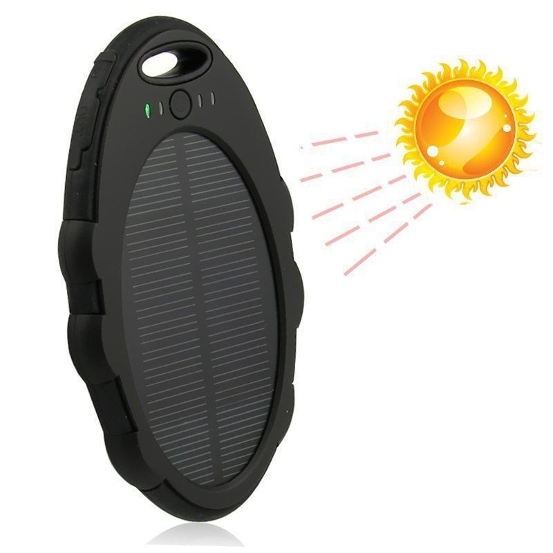 5000mah Portable Solar Power Bank Charger for Mobile phones Solar Charger