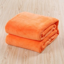 High quality cheap super soft 100 polyester fleece baby blanket made in china