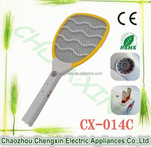 Portable Electronic Pest repeller mosquito swatter Anti fly killing machine with LED