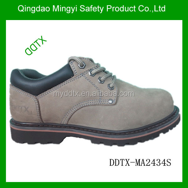 DDTX-MA2434S Olive color EN 345 low ankle goodyear safety shoes